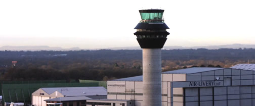 Manchester Air Traffic Control Tower Air Traffic Control Tower