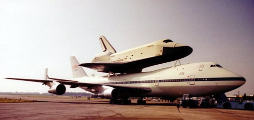 space shuttle landing at stansted - photo #21