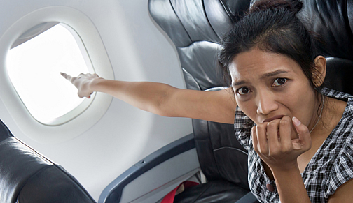 fear of flying image