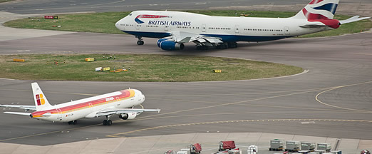 Cutting aircraft taxi times by a minute at Heathrow could save airlines  £30m - NATS Blog